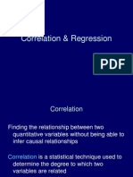 CBMR - Research - Correlation & Regression