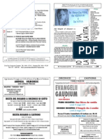 Foglietto domenicale n20 del 18/05/2014