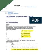 Act 12- Lección evaluativa No. 3