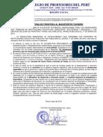 PAGO DE ZONA DE FRONTERA AL MAGISTERIO TACNEÑO