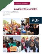 Género y Movimientos Sociales Informe General
