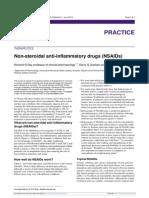 Non Steroidal Anti Inflammatory Drugs