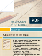 Energia Hidrogenului - Hydrogen Properties Course 2