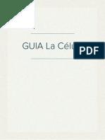 GUIA La Célula