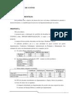 Proposta de Portfólio - Contabilidade de Custos