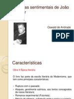 Memórias Sentimentais de João Miramar 2011-1