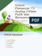 Sistem Pemancar TV Analog (Hitam Putih Dan Berwarna)