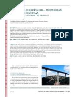 Puentes de Ferrocarril Tipologías