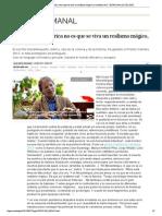"""Mia Couto_ """"En África no es que se viva un realismo mágico, es realismo real"""" _ El País Semanal _ EL PAÍS"""