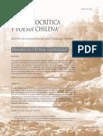 Notas Ecocritica en Chile