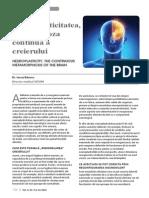 Neuroplasticitatea,Metamorfoza Continua a Creierului