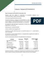 Raport Anual 2012 asigurari