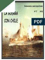 Caratula Album Guerra Con Chile