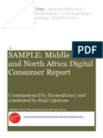SAMPLE-Middle East Digital Consumer Report