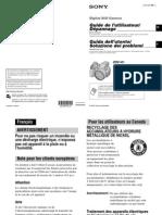 Guida Utente Ita-fra Fotocamera Sony Cybershot Dsc-h1