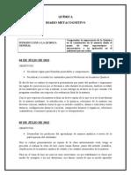 Diario Metacognitivo - Quimica