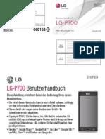 LG P700 Handbook
