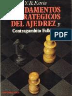 77 -Fundamentos Estrategicos Del Ajedrez - Yakov Estrin