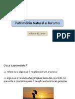 Patrimônio Natural e Turismo