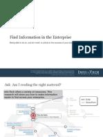 Find Info in the Enterprise SB