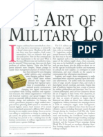 The Art of Military Logistics