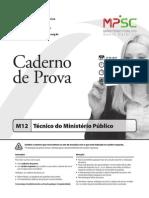 Fepese 2014 Mpe Sc Tecnico Do Ministerio Publico Prova