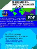 Antecedentes Del Descubrimiento y Conquista de Chile Final