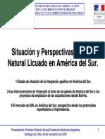 GNL en América del Sur