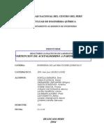 Informe de Laboratorio - Obtencion de Acetaldehido