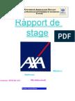 Rapport de Stage AXA