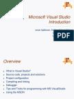 Visual Studio 8 Introduction