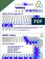 UFABC_EN2708_FOTONICA_Aula 06 - Óptica Eletromagnética II_020414