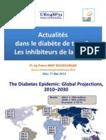 Actualitésdans le diabète de type2: Les inhibiteurs de la DPP-4
