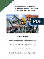 Guia de Modulo Estructuras Metalicas