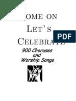 Worship Songs & Choruses