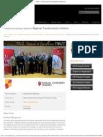 Chancellor Michael Harris Leads Indiana University Kokomo Regional Transformation Initiative UEDA
