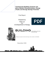 Roth 2005 DOE Report the Energy Impact of Commercial Building Controls and Performance Diagnostics