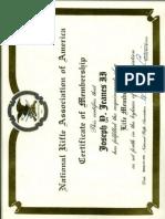 NRA National Rifle Association