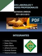 Riesgos Laborales y Enfermedades Profesionales Usa
