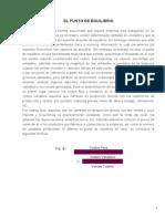 EL PUNTO DE EQUILIBRIO.doc
