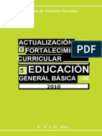 Bloques Curriculares Ministerio Educacion 8-9-10 Sociales