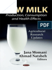 Raw Milk. Production, Consumption and Health Effects