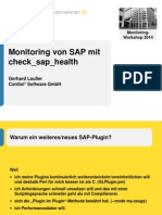 Check Sap Health