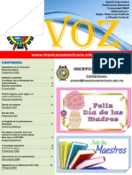 La Voz_mayo 2014