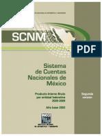 Cuentas Nacionales - Estadísticas - México. 2. Producto Interno Bruto - Estadísticas - México. 2003.pdf