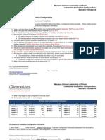 leadership evaluation configuration 2013