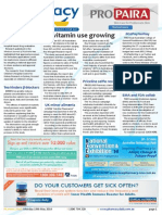 Pharmacy Daily for Mon 19 May 2014 - Oz vitamin use growing, Poppy trials forge ahead, MA ceo joins Sleep-out, Personal accident insurance and much more
