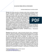 Artigo Fatima Aparecida Oliveira Sozza