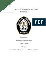 Kopi Indonesia Sebagai Identitas Bangsa Indonesia