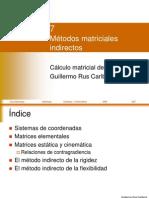 07 Metodos Matriciales Indirectos